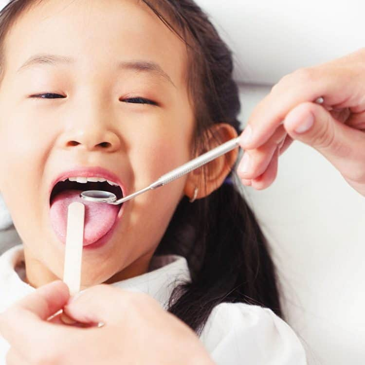 Children Dental Checkup and Clean